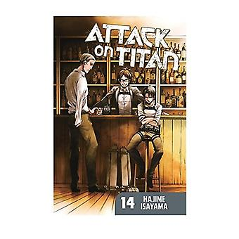 Attack on Titan 14 Paperback