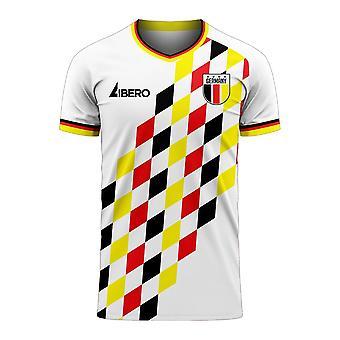Duitsland 2020-2021 Home Concept Football Kit (Libero)