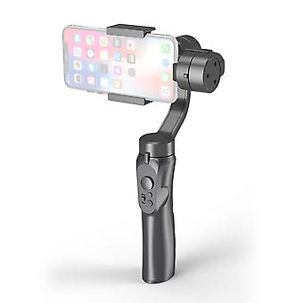 Durable smooth strong phone stabilizer 3-axis handheld gimbal bluetooth smart action camera selfie sticks black camera mount