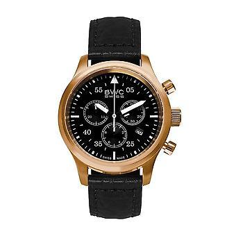 BWC Swiss - Wristwatch - Men - Quartz - 20017.57.52