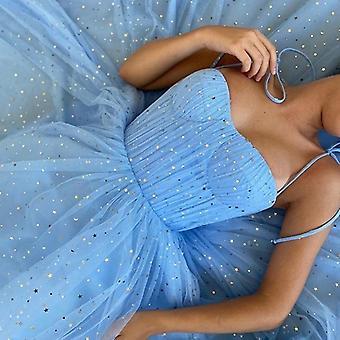 Sweetheart Dot Net Prom Dress ( Set 1)