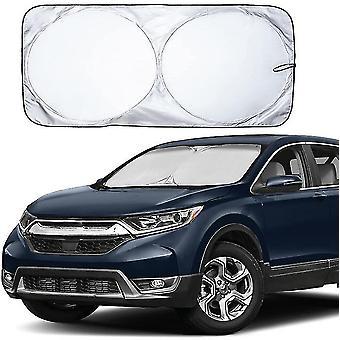 Car Windshield Sun Shade, 170t Material For Uv Rays, Sun Heat Protection(190x90cm)