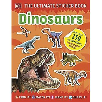 Ultimate klistremerke bok dinosaurer