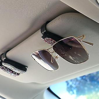 Sun Visor Gafas Soporte Bill Decoración Clip