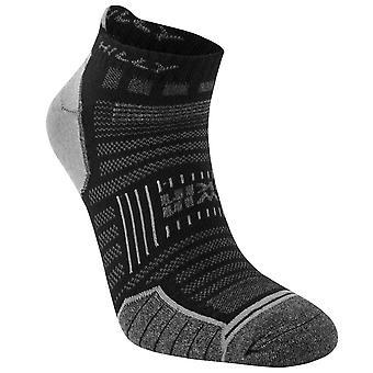 Hilly Twin Skin Socklets - Black/Grey Marl