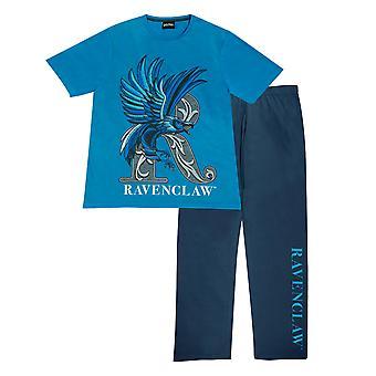 Oficiální děti Harry Potter Ravenclaw Dlouhé pyžama Set Boys Girls PJs