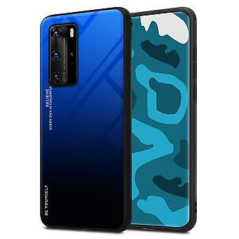 Fodral för Huawei P40 PRO Robust Hard Cover Case - Telefonväska - Lock - Bakre omslag Stötfångare