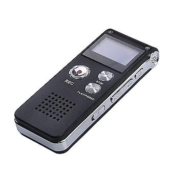 Digital Voice Recorder Usb Rechargeable Recording Device Music Playing Portable Recording Device