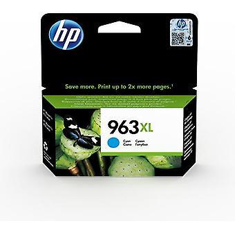 HP 963XL cyan original bläckpatron med hög kapacitet, Hög (XL) avkastning, Pi