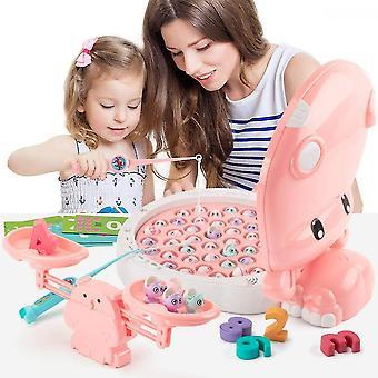 Børn Fiskeri Spil Toddler Learning Counting Math Toys W / Balance