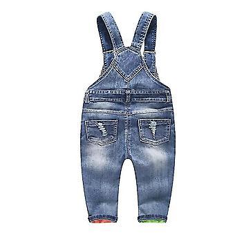 Children Jeans Pants Denim Trousers Kids