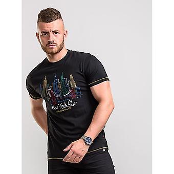 Duke Mens Shelby D555 Skyline T-Shirt