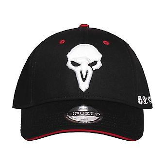 Overwatch Baseball Cap Reaper Logo new Official Black Snapback