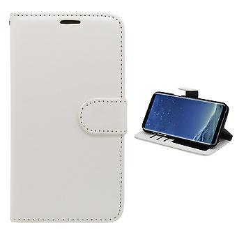 Samsung Galaxy S8 plus-lederen etui/portemonnee