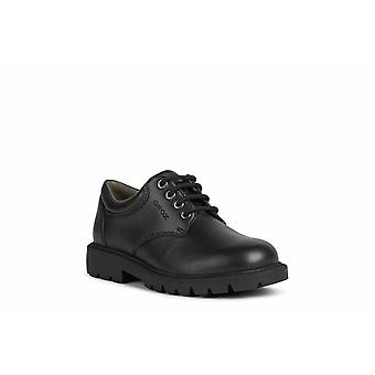 Geox Boys Shaylax Leather School Shoes