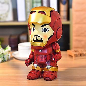 (Iron Man) Avengers Marvel Batman Captain America Sparschwein