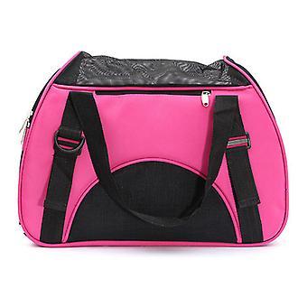 Pink Haustier Hund Ourdoor Reisetasche Rucksack