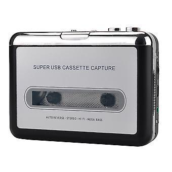 Ezcap218 usb cassette player cinta a pc antiguo cassette a mp3 format converter