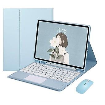 """Bluetooth-näppäimistö, jossa hiiren jalustakotelon kansi ipad Air 4 10.9"""""""
