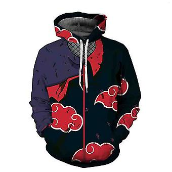 Anime Sweater Naruto Series Hooded 3d Sweater