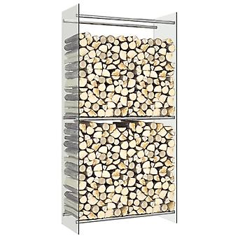 Chunhelife Brennholz Rack Transparent 80x35x160 Cm Glas