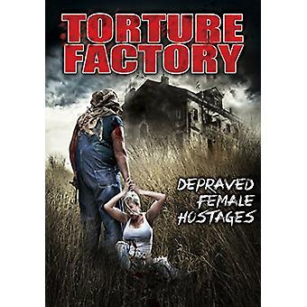 Torture Factory: Depraved Female Hostages [DVD] USA import