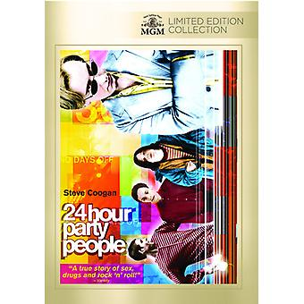 24 Hour Party People [DVD] USA import
