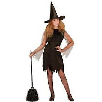 Kinder's Kostüme Mädchen Hexe Kostüm