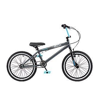 Kogut Jammin 18-calowe koła Bike BMX szary/niebieski chłopcy