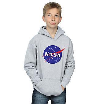 NASA Boys klassischen Insignien Logo Hoodie
