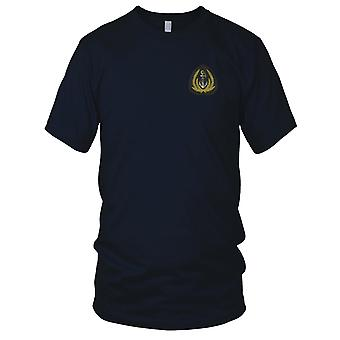 ARVN Navy Anchor Insignia - Hai Quan - Military Naval Vietnam War Embroidered Patch - Mens T Shirt
