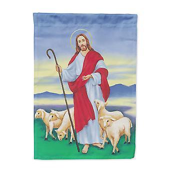 كارولين كنوز AAH6876CHF يسوع الراعي الصالح العلم قماش حجم البيت