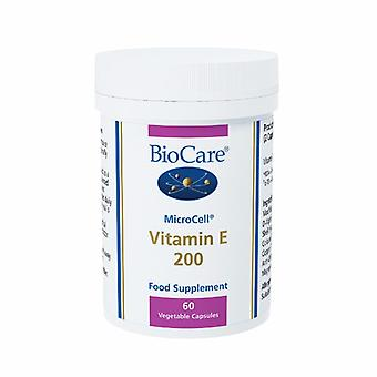 Biocare MicroCell vitamine E 200iu (source naturelle), 60 capsules vignaud