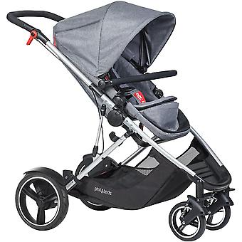 Phil & Teds Voyager Buggy Grey Marl