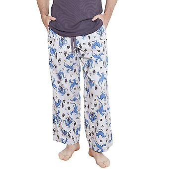 Drake Motif cinza pijama Pereira Cyberjammies 6198 masculino