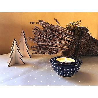 Candelabro / candelita titular, ø 8,5 cm, 4 cm ↑, único 22, m-1077 BSN