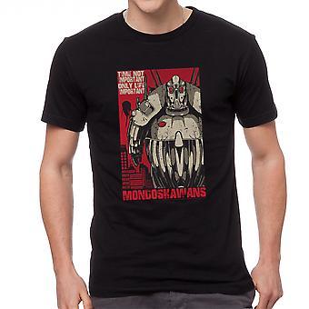 The Fifth Element Time Not Important Men's Black T-shirt