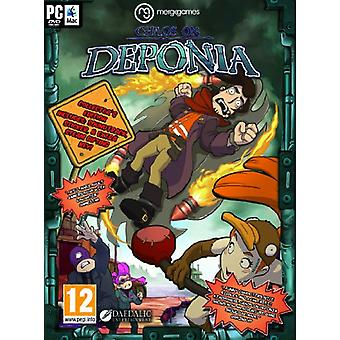 Chaos on Deponia (PC DVD) - New