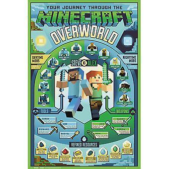 Minecraft Overworld Biome Maxi Poster