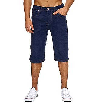 Men's Jeans Shorts Classic Men's Shorts Washed Up Pants Summer Capri