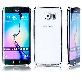 Premium TPU Silikoncase srebrny do Samsung Galaxy S6 edge G925 G925F