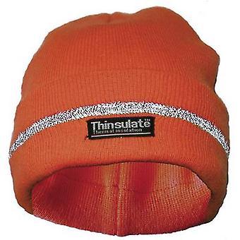 Lasse 40312 Woollen sombrero Naranja fluorescente