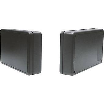Strapubox 6006SW Universal enclosure 125 x 74 x 27 Acrylonitrile butadiene styrene Black 1 pc(s)