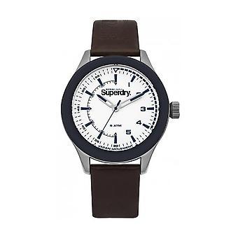 SUPERDRY - montre bracelet - homme - SYG231BR - REBEL CHALLENGER
