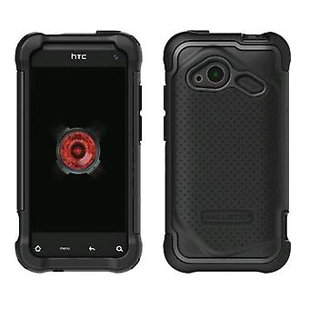 Ballistic Soft Gel Case for HTC Droid Incredible 4G LTE ADR6410 - Black