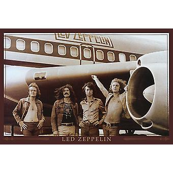 Led Zeppelin Poster Flugzeug  61 x 91,5 cm