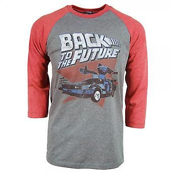 Вернуться к будущей Мужская обратно в будущем реглан T рубашка серая