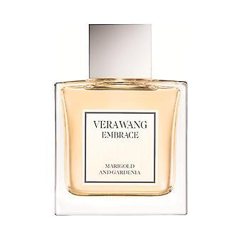 Vera Wang omarmen Goudsbloem en Gardenia Eau de Toilette Spray 30ml
