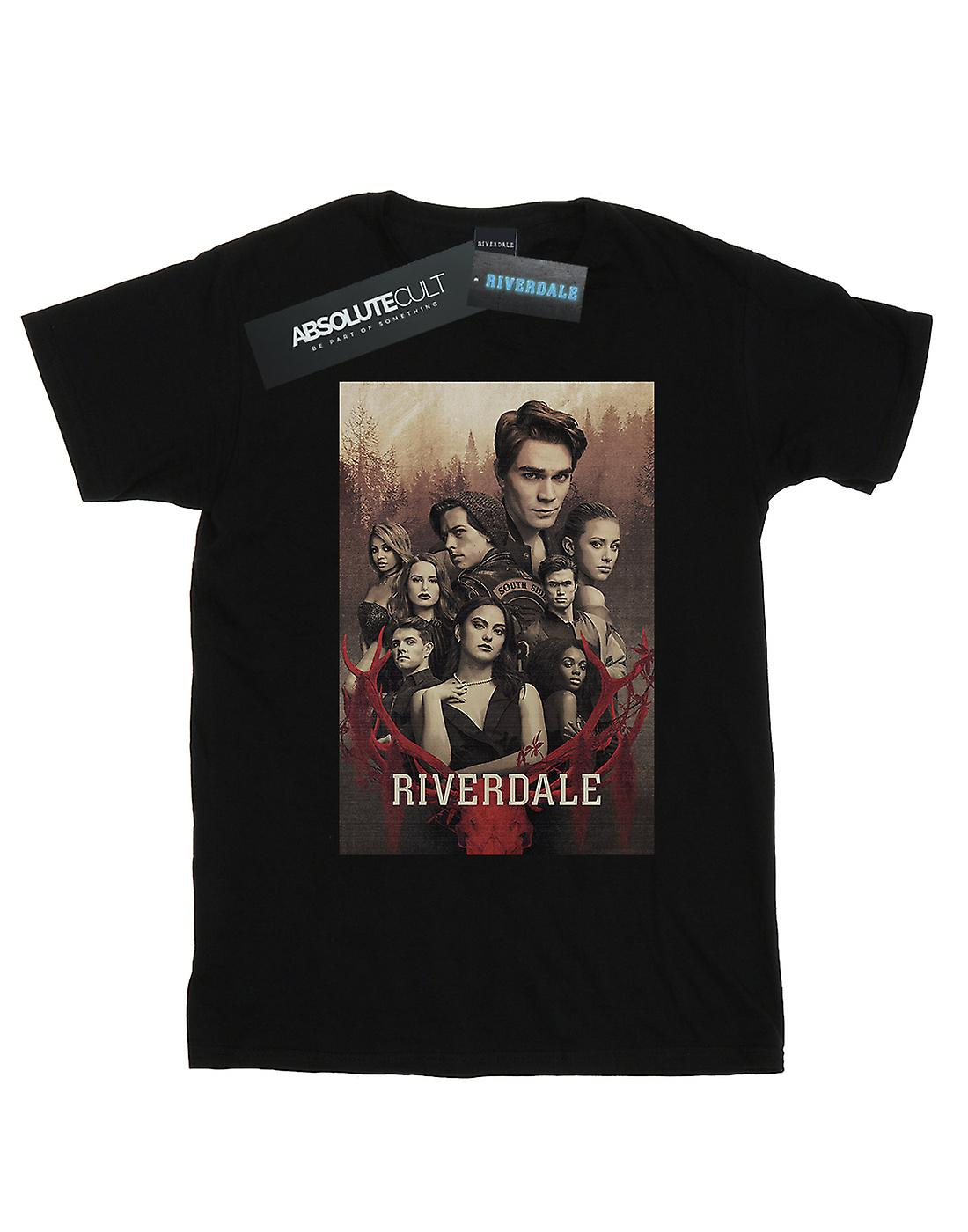Riverdale Men's Stag Skull T-Shirt