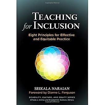 Unterricht für die Aufnahme: acht Grundsätze für wirksame und gerechte Praxis (Behinderung, Kultur und Equity-Serie)